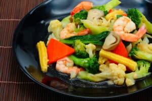 Stir Fried Vegetables   Thai Cooking   Learn Online