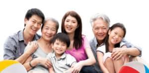 Happy Thai Family
