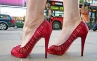 Thai Language High Heeled Shoes