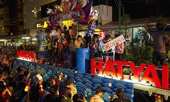 songkran hatyai party parade