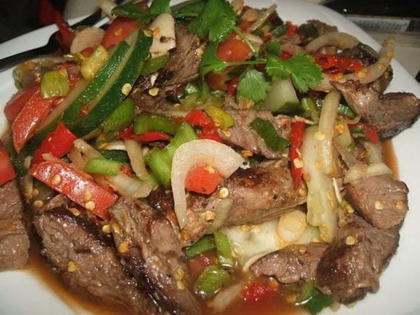 Мясные салаты рецепты с фотографиями