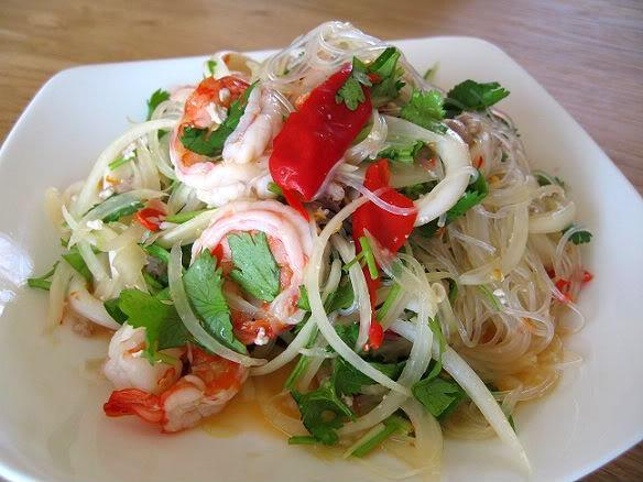 noodle chicken shrimp chicken glass noodle salad thai chicken shrimp ...