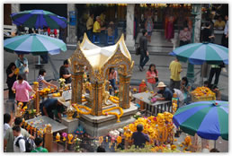 Temple on Sukhumvit Road