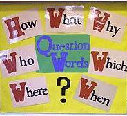 Thai Question Words