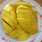 sweet yellow Thai mango - learn more about Thai culture with us