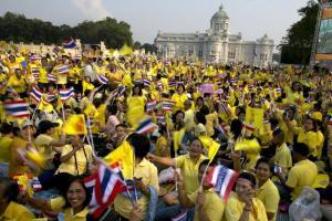 Thai Celebrating King of Kings Birthday