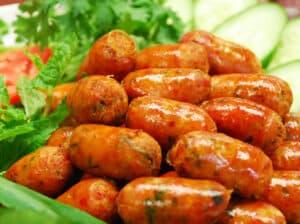 Northern Thai Sausage ไส้อั่ว