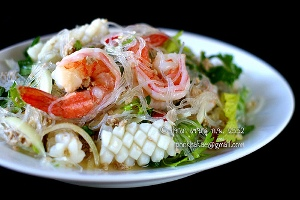 Glass Noodle Salad in Thai