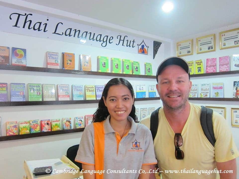 Students Learn Thai Onlne