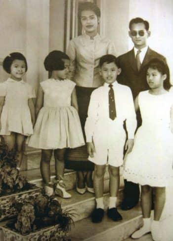 The Children of the Thai Royal Family King Rama IX