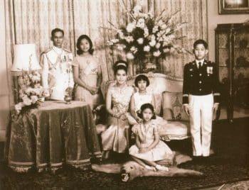 The Thai Royal Family Rama IX