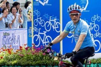 King Rama X cycling