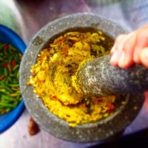 Thai Yellow Curry with Fish - Pounding Ingredience | Learn Thai Culture