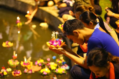 Cultural Thai Activities l Loy Kratong
