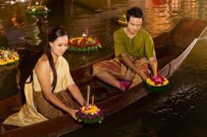 Floating Kratong Thai Festival