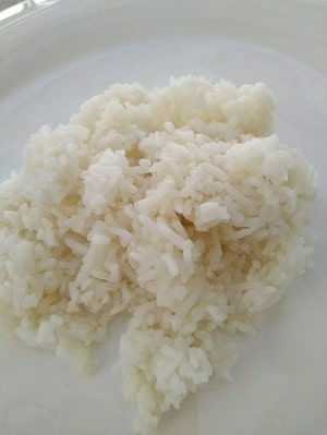 Khao Plao White Thai Rice the staple for all meals in Thailand