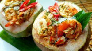 Thai Food, Vocabulary, ห่อหมกทะเล