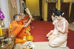 Monk Wedding Blessing | Thai Culture