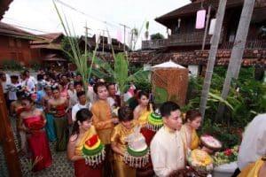 Wedding Ceremonial Procession Thailand | Thai Culture