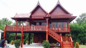 Thai House Preparing for Thai Wedding | Thai Culture