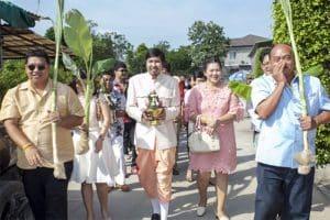 The Thai Wedding Procession | Learn Thai Culture